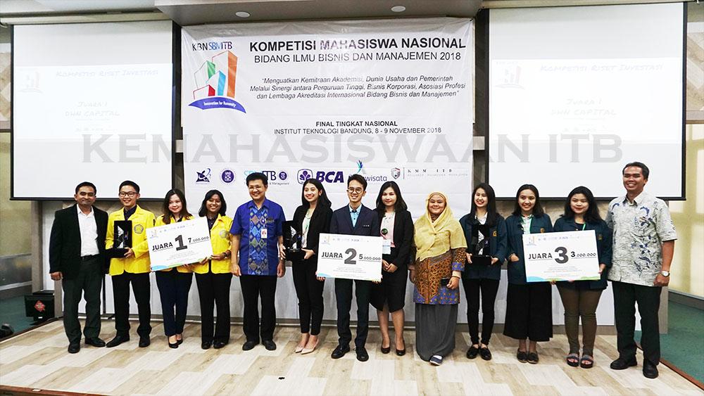 Itb Raih Juara 2 Dan Juara 3 Dalam Kompetisi Bisnis Nasional 2018